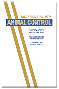 Harrison County Animal Control Ordinance
